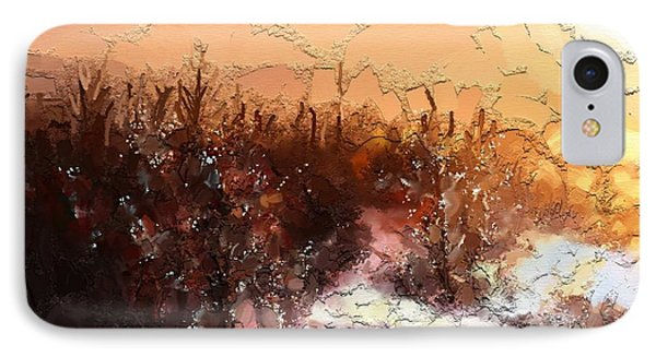 Winter Light IPhone Case by Carrie Joy Byrnes