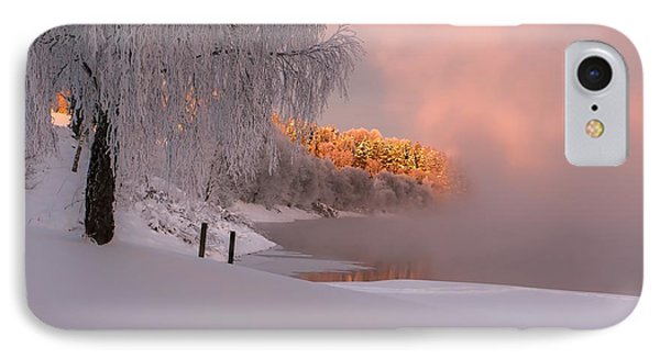 Winter Light Phone Case by Rose-Maries Pictures