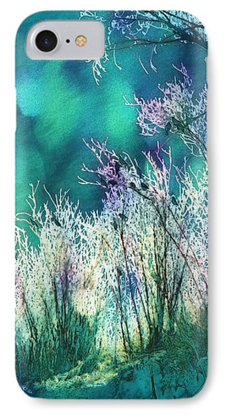 Winter Lights IPhone Case by Kathy Bassett