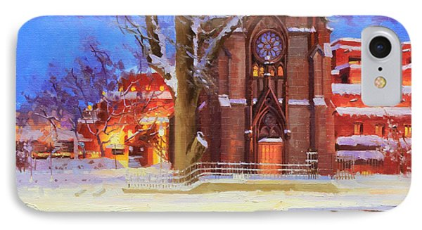 Winter Lorreto Chapel IPhone Case by Gary Kim