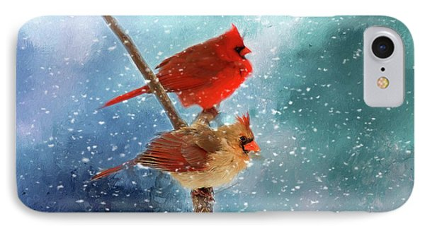 IPhone Case featuring the photograph Winter Love by Darren Fisher