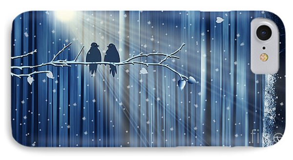Winter Love IPhone Case