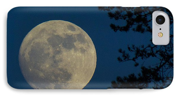 Winter Moon IPhone Case by Randy Hall