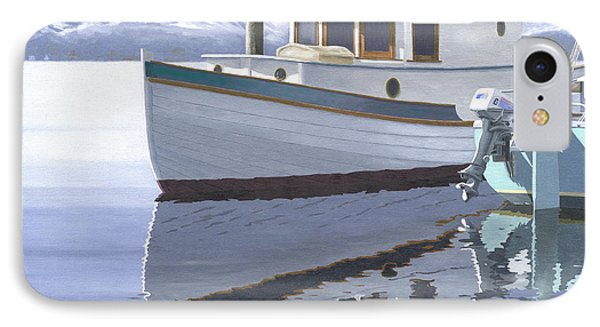Winter Moorage Phone Case by Gary Giacomelli
