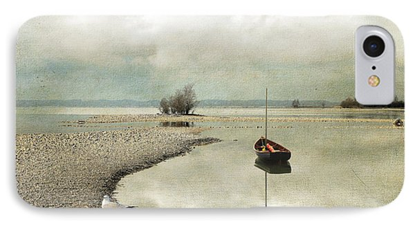 IPhone Case featuring the photograph Winter Morning By The Lake by Chris Armytage