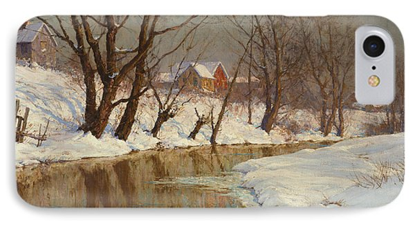 Winter Morning IPhone Case by Walter Launt Palmer