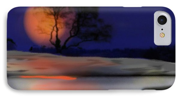 Winter Night IPhone Case by Dr Loifer Vladimir