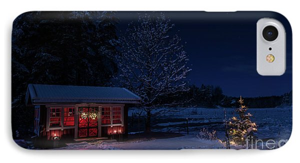 IPhone Case featuring the photograph Winter Night by Torbjorn Swenelius