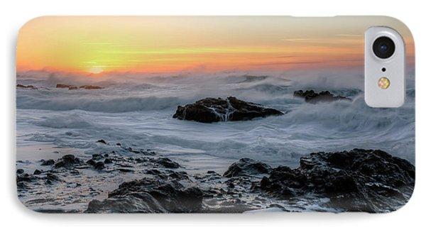 Winter Ocean At Sunset IPhone Case