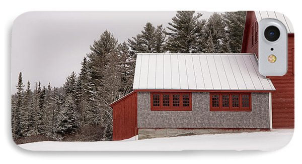 Winter On The Farm IPhone Case by Edward Fielding
