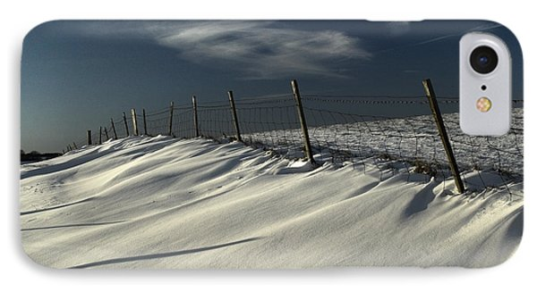 Winter On The South Downs IPhone Case by Hazy Apple