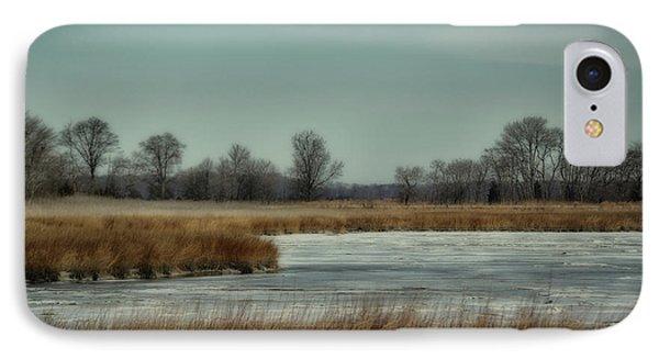 Winter On The Water IPhone Case by Tamera James