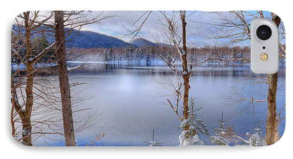 Winter On West Lake IPhone 7 Case by David Patterson