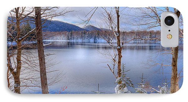Winter On West Lake IPhone Case by David Patterson