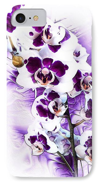 Winter Orchid IPhone Case by Gabriella Weninger - David