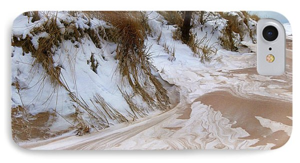 Winter Paints IPhone Case by Kathi Mirto