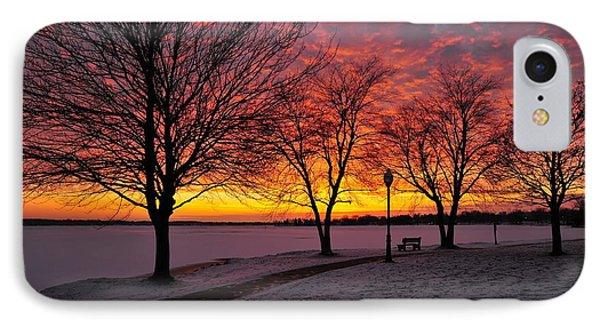 IPhone Case featuring the photograph Winter Park by Terri Gostola