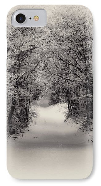 Winter Path IPhone Case