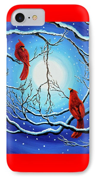 Winter Peace IPhone Case by Laura Iverson