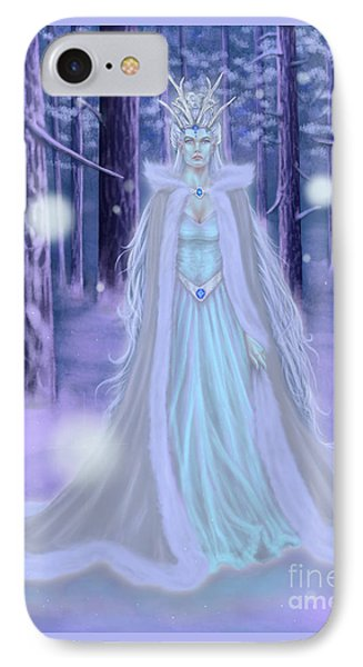 Winter Queen IPhone Case by Amyla Silverflame