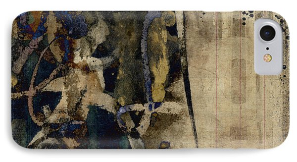 Winter Rains Series Five Of Six IPhone Case by Carol Leigh