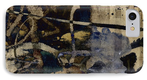 Winter Rains Series Two Of Six IPhone Case by Carol Leigh