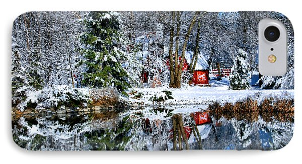 Winter Reflection Phone Case by Kristin Elmquist