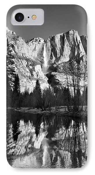IPhone Case featuring the photograph Winter Reflections - Yosemite by Stephen  Vecchiotti