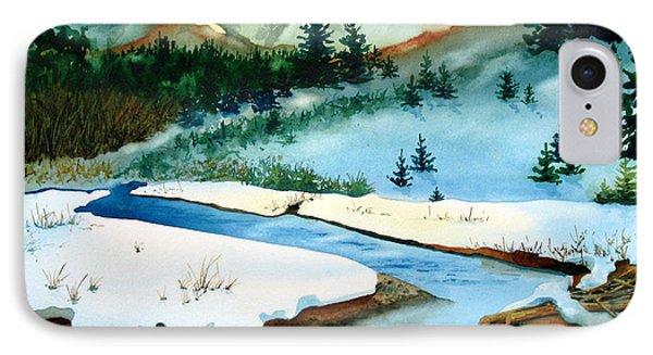Winter Retreating Phone Case by Karen Stark
