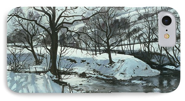 Winter River Phone Case by John Cooke