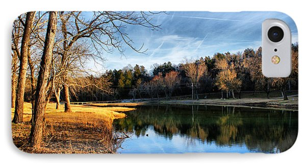 Winter River IPhone Case by Rick Friedle