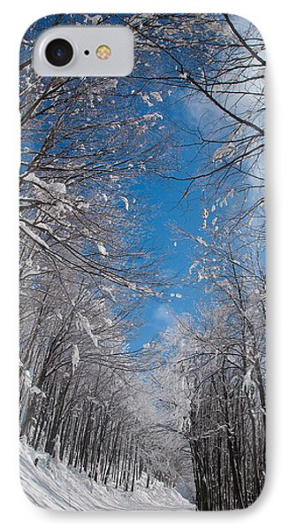 Winter Road Phone Case by Evgeni Dinev