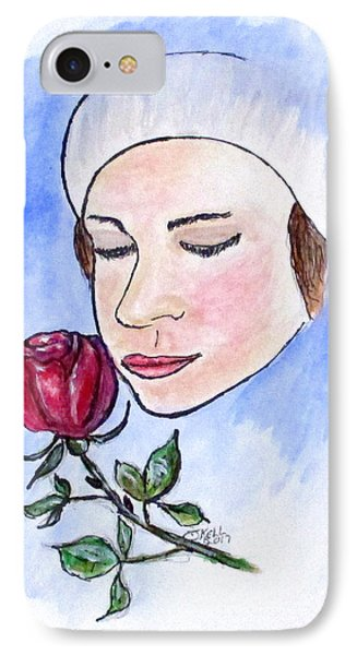 Winter Rose IPhone Case by Clyde J Kell