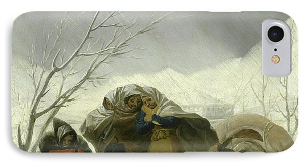 Winter Scene IPhone Case by Goya