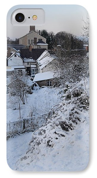 IPhone Case featuring the photograph Winter Scene In North Wales by Harry Robertson