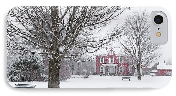 Winter Scene IPhone Case by Tim Kirchoff