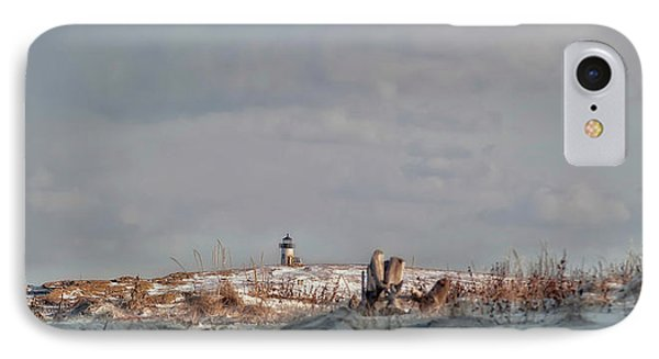 IPhone Case featuring the photograph Winter Scented Sand by Richard Bean