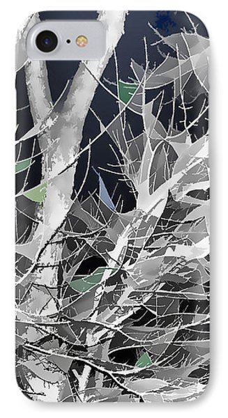 IPhone Case featuring the digital art Winter Song by Wendy J St Christopher