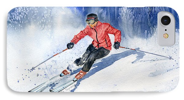 Winter Sport IPhone Case by Melly Terpening