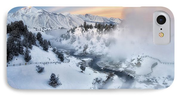 Winter Steam  IPhone Case by Nicki Frates