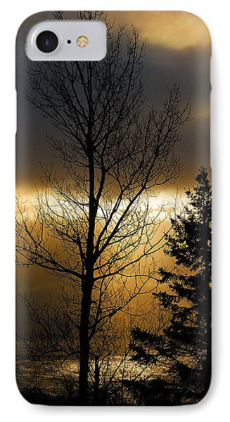 Winter Sunrise 2 Phone Case by Sebastian Musial