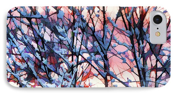 Winter Sunrise IPhone Case by Betsy Zimmerli