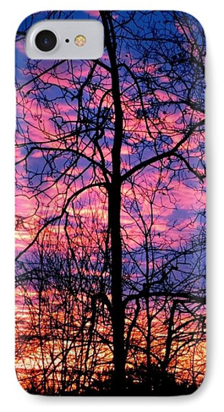 Winter Sunrise IPhone Case by Betty Buller Whitehead