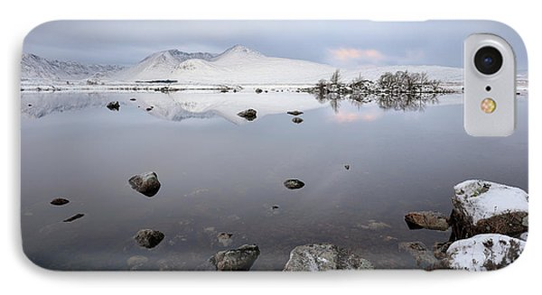 IPhone Case featuring the photograph Winter Sunrise Glencoe by Grant Glendinning