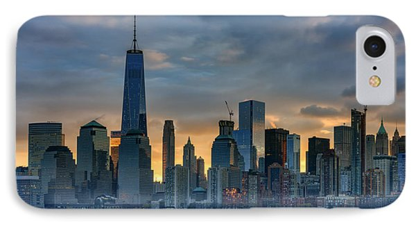 Winter Sunrise New York City IPhone Case by Rick Berk