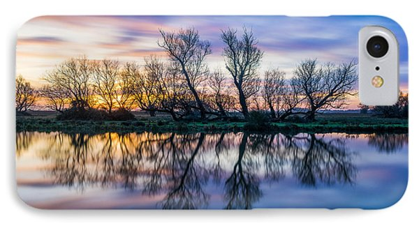 Winter Sunrise Over The Ouse IPhone Case