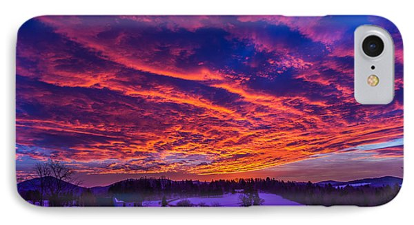 Winter Sunrise IPhone Case by Tim Kirchoff