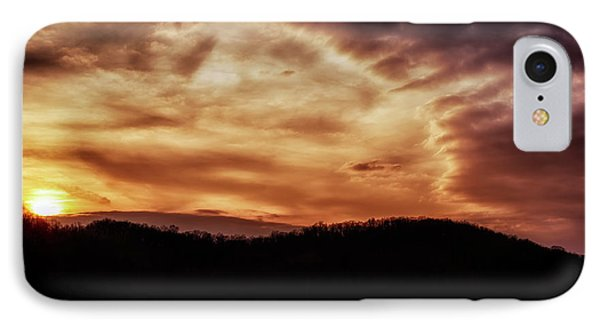 IPhone Case featuring the photograph Winter Sunset by Thomas R Fletcher