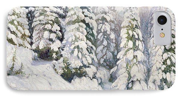 Winter Tale IPhone Case by Aleksandr Alekseevich Borisov