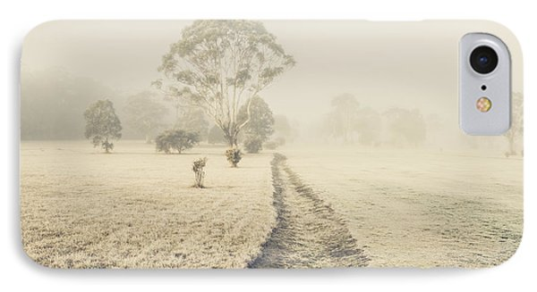 Winter Tasmania Background IPhone Case by Jorgo Photography - Wall Art Gallery